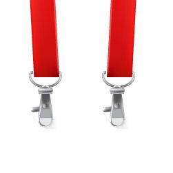 два карабина для ленты для бейджа