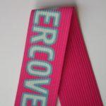 Лента эластичная (резинка) с печатью логотипа