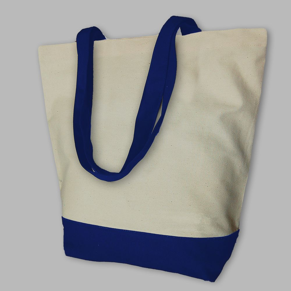 "Сумка шоппер ""Neva OKEY"" синяя"