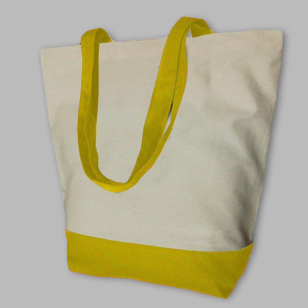 "Сумка шоппер ""Neva OKEY"" желтая"